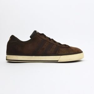 ADIDAS Brown Suede Leather Mens Shoes 11